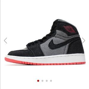 Air Jordan 1's GIRLS (GS) DENIM